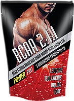Аминокислоты Power Pro - BCAA 2:1:1 Mega Strong (500 грамм) grapefruit/грейпфрут