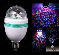 Новогодняя Диско Лампа  LED Full Color + Переходник в подарок!