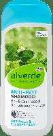 Шампунь для жирных волос alverde NATURKOSMETIK Anti Fett Bio-Brennnessel, 200 ml