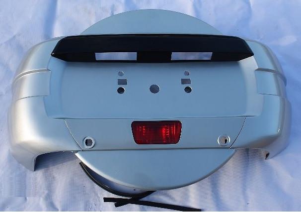 Кожух запасного колеса Mitsubishi Pajero IV '07-14 (FPS)