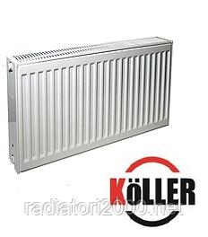Стальной радиатор Keller 22к 500*1200 боковое подключение