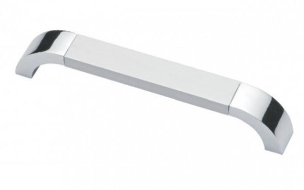 Ручка мебельная Ozkardesler 14.215 ARKAS 160мм Матовый Хром-Хром