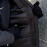 """Парка мужская зимняя черная   Winter Parka """"Arctic""""+ Перчатки в подарок, фото 4"""