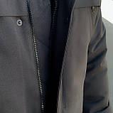 """Парка мужская зимняя черная   Winter Parka """"Arctic""""+ Перчатки в подарок, фото 5"""