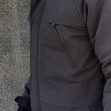 """Парка мужская зимняя черная   Winter Parka """"Arctic""""+ Перчатки в подарок, фото 6"""