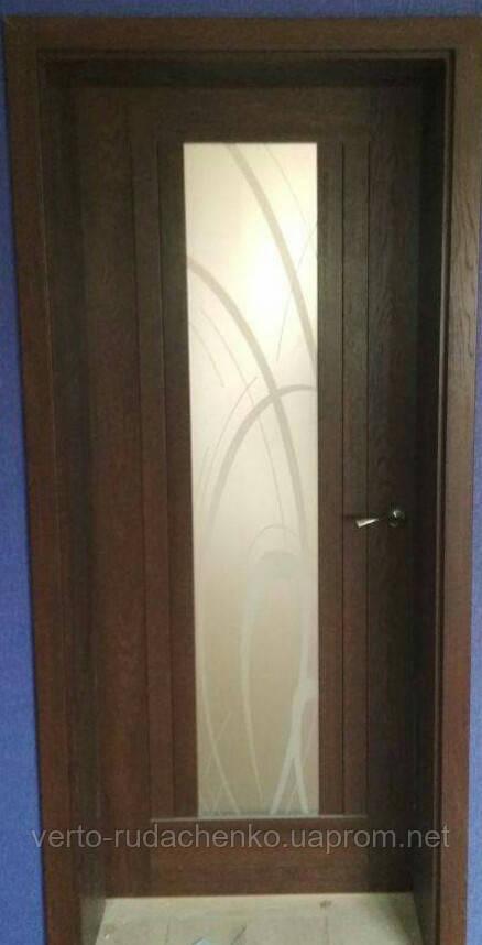 Двери Verto Лада 2А.1 в цвете Дуб британский «Verto-CELL»