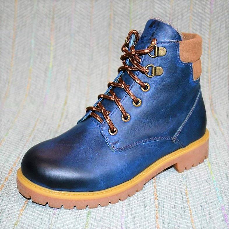 Кожаные ботинки, Eleven shoes зима размер 32 34