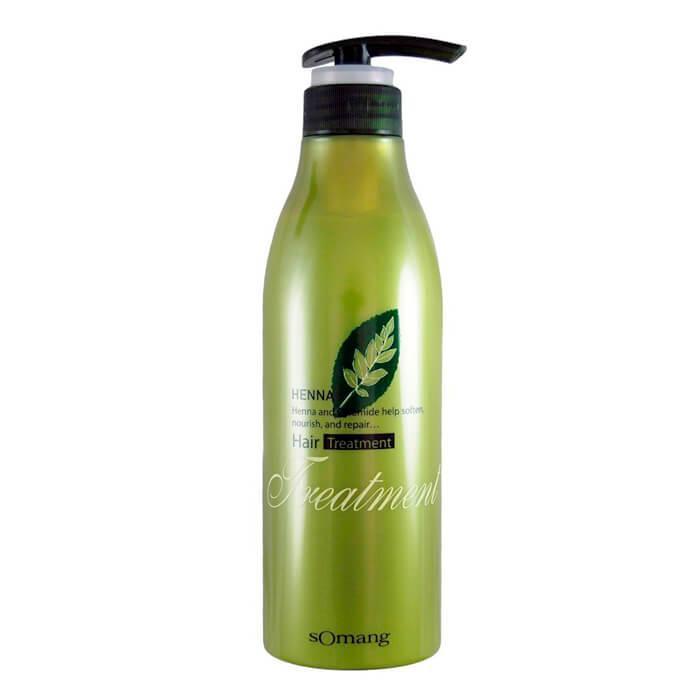 Маска для волос Flor de Man Henna Hair Treatment восстанавливающая 500 мл (001016)