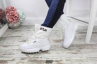 Женские белые дутики EILA 880, фото 1