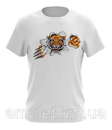 """Стильна чоловіча футболка """"Тигр"""", фото 2"""