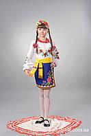 Український національний костюм для дівчинки №26(122-156см.)