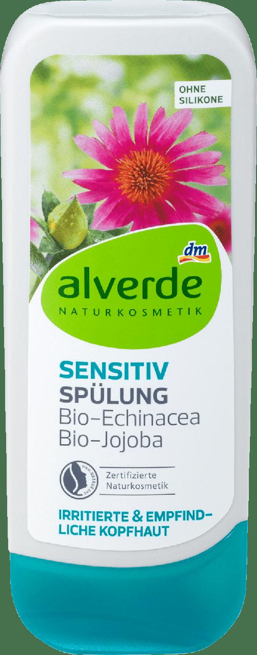 Кондиционер alverde NATURKOSMETIK Sensitiv Bio-Echinacea & Jojobaöl, 200 ml