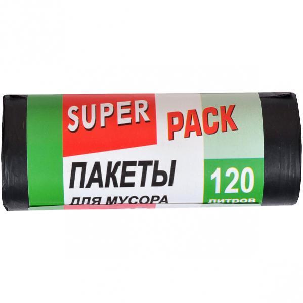 Пакет для мусора 120 л/10 шт