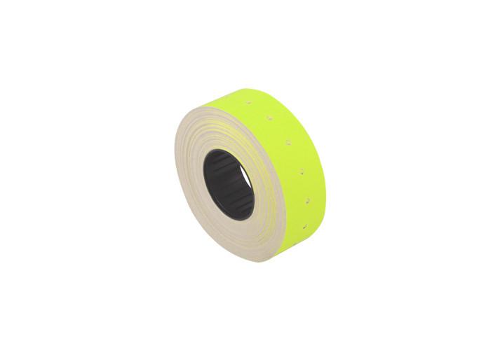 Ценники прямоугольные  21*12 мм, желтый, 1000 шт