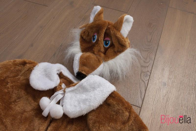 Детский костюм тройка лисичка для девочки карнавальный костюм для утренника р 110