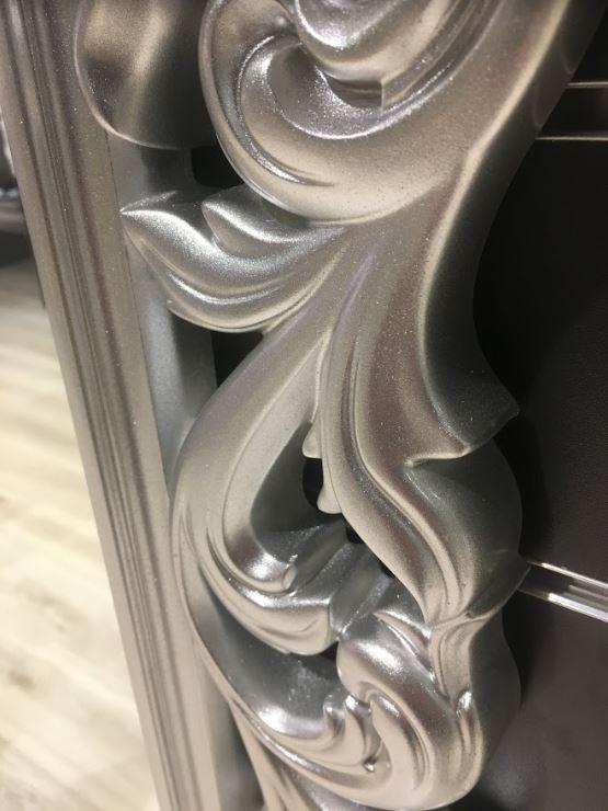 Зеркало Версаль серебро (рама, фото 2)