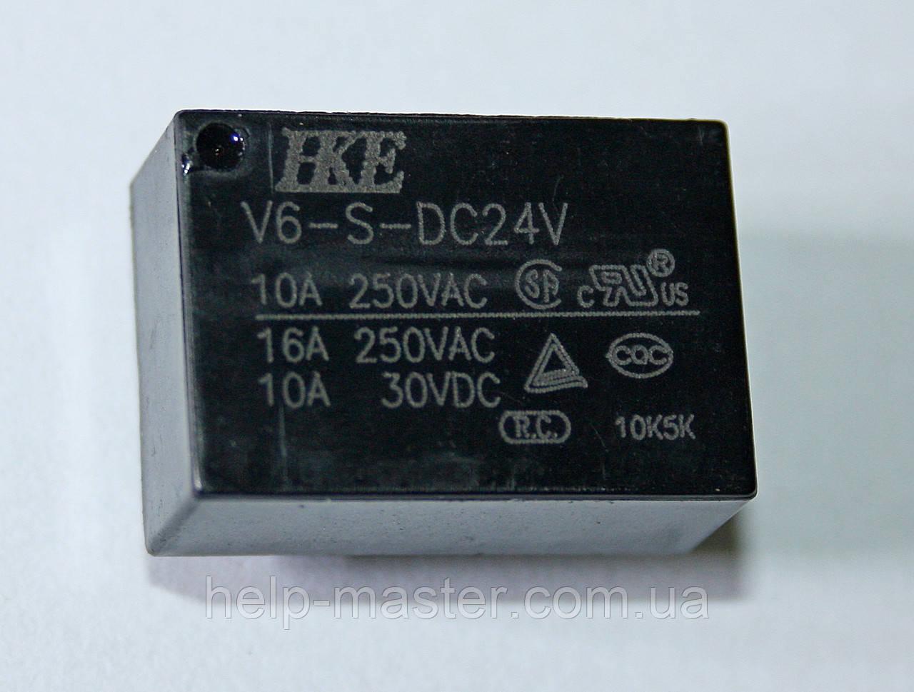 Реле V6-S-DC24V; 24VDC