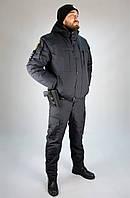 Куртка  Зимняя  Полиции  Мембрана  под резинку, фото 1