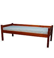 Дерев'яне односпальне ліжко Л-136, Деревянная односпальная кровать  Л-136