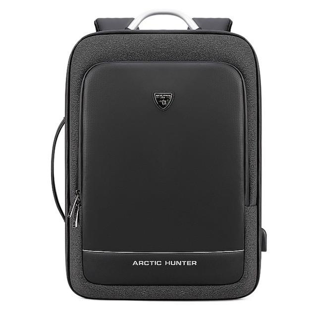 """Деловой бизнес-рюкзак для ноутбука 15,6-17"""" и планшета 9,7"""" Arctic Hunter B00227, 25л"""