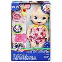 Кукла-малышка Лили Baby Alive со снеками