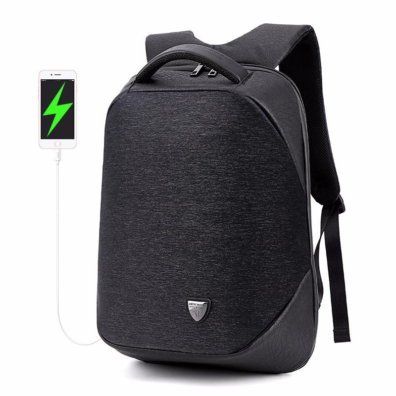 Стильный влагозащищённый дизайнерский рюкзак для бизнеса и путешествий Arctic Hunter B00193, 22л