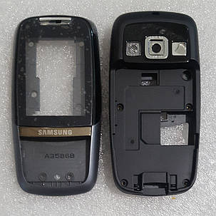 Корпус для Samsung D600 чорний, фото 2