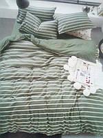 Постельное белье фланель евро размер