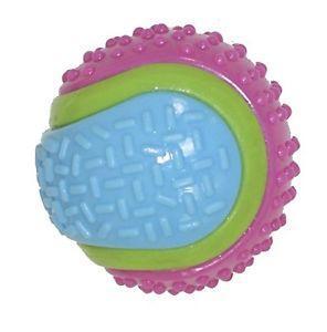 Игрушка для собак Мяч резиновый 8 см со звенелкой Croci