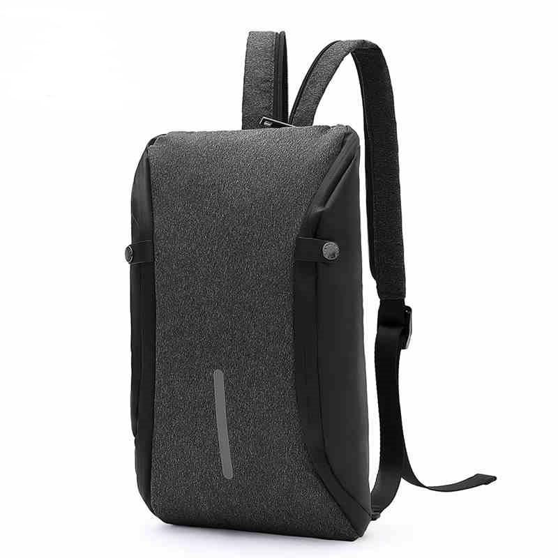 Дизайнерский рюкзак-антивор Arctic Hunter XB00046 среднего размера для бизнеса и города с кодовым замком, 8л