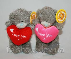 Мишко Teddy з серцем 14 см