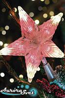 LED Звезда новогодняя 5+8+1 светодиод. Светодиодная гирлянда. Гирлянда LED. Производство Франция.