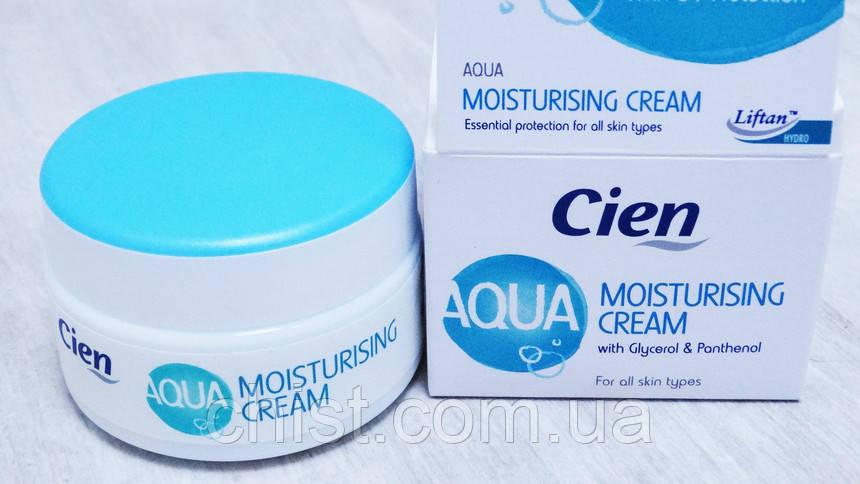 Cien крем для лица увлажняющий AQUA (50мл)