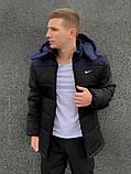 """Куртка мужская зимняя сине- черная Jacket Winter """"Euro"""", фото 3"""