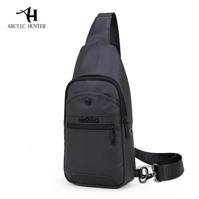 Удобная сумка-мессенджер для бизнеса и путешествий Arctic Hunter XB13001, влагозащищённая, 4л