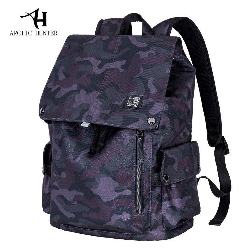 """Молодёжный рюкзак-мешок с USB портом для ноутбука до 15,6"""" Arctic Hunter B00138, 20л"""