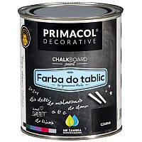 Черная грифельная краска Primacol 0,75л