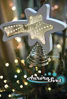 LED Звезда новогодняя 25 светодиодов. Светодиодная гирлянда. Гирлянда LED. Производство Франция.