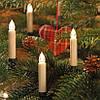 Новогодняя гирлянда свеча с клипсами на елку 15 шт. Беспроводные - Фото