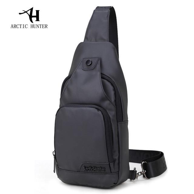 Удобная сумка-мессенджер для бизнеса и путешествий Arctic Hunter XB13005, влагозащищённая, 4л