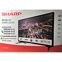Телевизор Sharp LC-32HI5432 ( AM 200Гц, HD Ready, Smart TV, DVB-C/T2/S2)