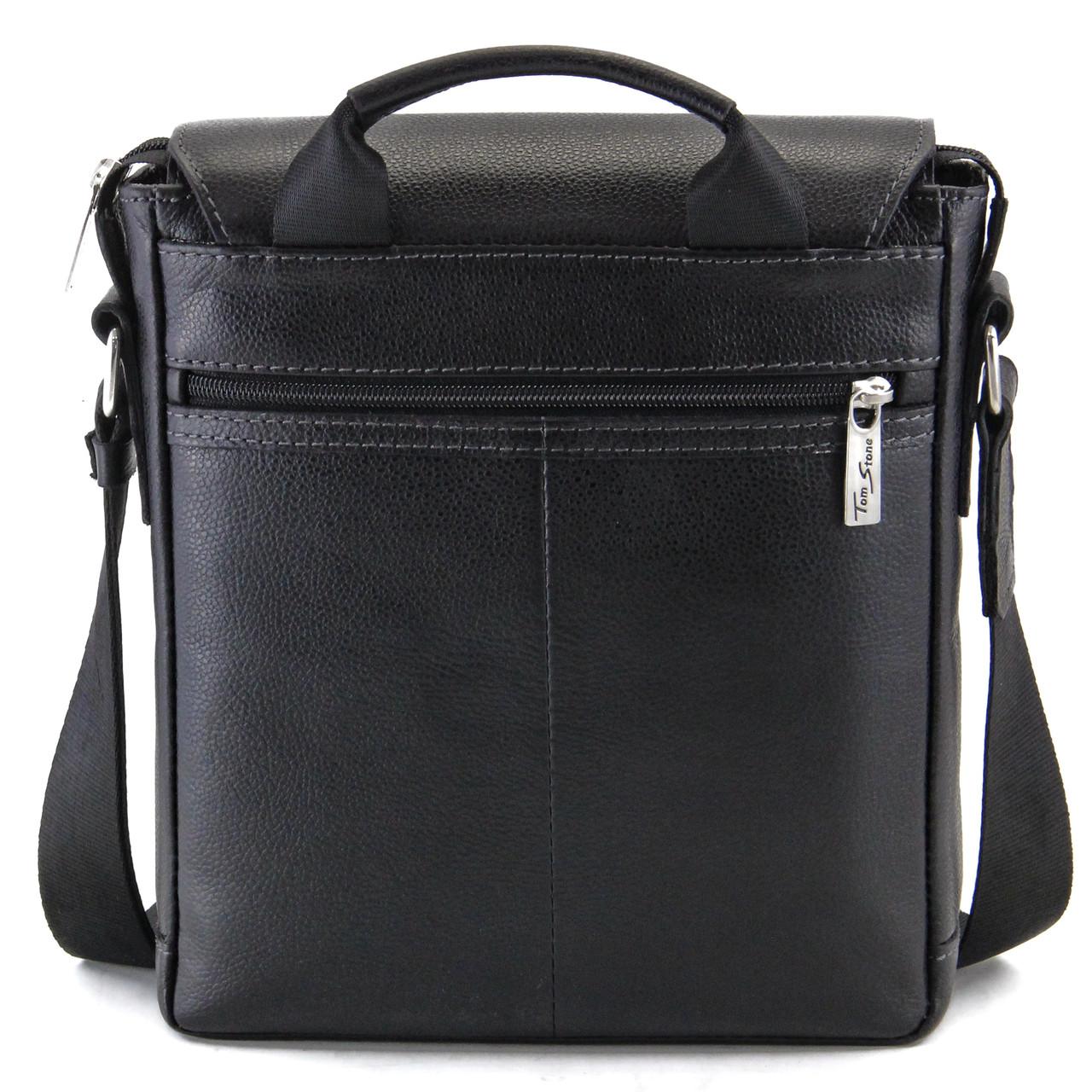 91cf172def95 Мужская кожаная сумка с ручкой Tom Stone, цена 2 350 грн., купить в  Черкассах — Prom.ua (ID#458316923)