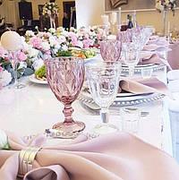 Цветное стекло (бокалы, стаканы, блюда, креманки)