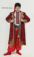 Украинский национальный мужской костюм со свитой и нашитым орнаментом №4