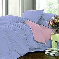 Комплект постельного белья, Сатин однотонный микс №4032+№005