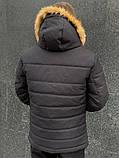 """Куртка мужская  зимняя  черная   Jacket winter """"Alaska"""", фото 4"""
