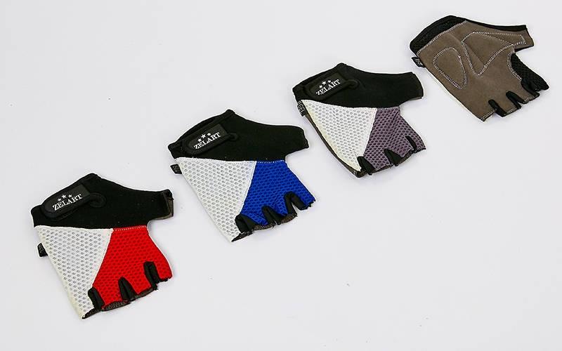 """Перчатки для фитнеса """"ZELART"""" с открытыми пальцами"""