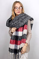 Женский теплый шарф