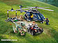 "Конструктор SY 1079 ""Погоня за Блю на вертолёте"" 433 детали. Аналог Lego Jurassic World 75928, фото 2"