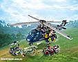"Конструктор SY 1079 ""Погоня за Блю на вертолёте"" 433 детали. Аналог Lego Jurassic World 75928, фото 3"